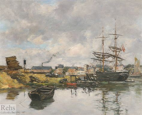 horaire maree port louis eugene louis boudin impressions of the sea