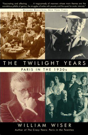 twilight years paris     william wiser