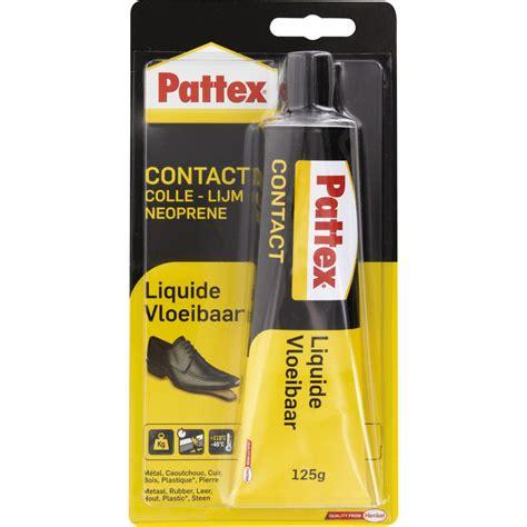 colle pour cuir canape colle contact néoprène pattex liquide 125 g de