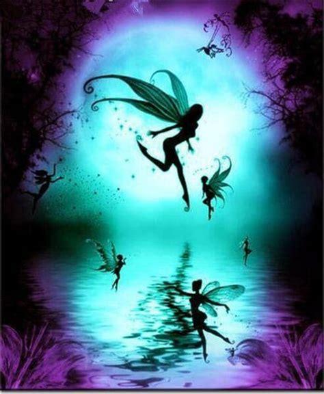 full moon fairies  diamond painting kits oloee