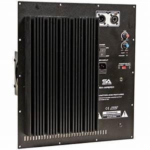 800 Watt Plate Amplifier For Pa  Dj Subwoofer Cabinets