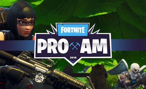 E3 2018 Fortnite Celebrity Pro-Am - Streams and Schedule