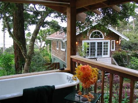 cottage tomales bay from outdoor tub gazebo picture of