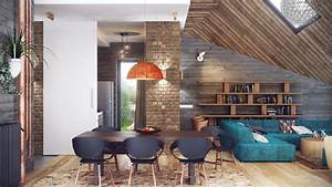 industrial lofts With interior design of house with loft