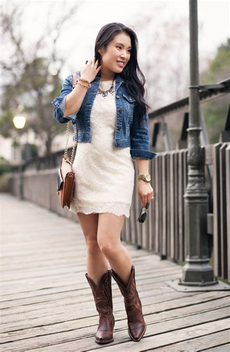 lace dress cowboy boots ariat boots giveaway