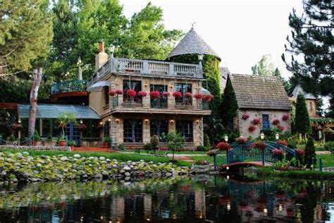 cuisine caille restaurant from the gardens picture of la caille