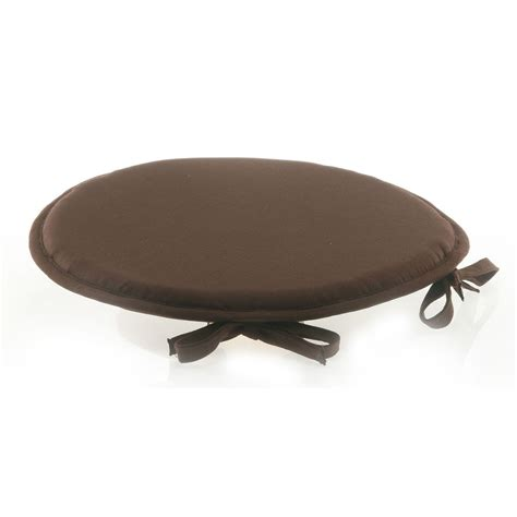 chaise ronde galette de chaise ronde chocolat