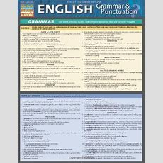 Cheapest Copy Of English Grammar & Punctuation (quick Study Academic) By Inc Barcharts