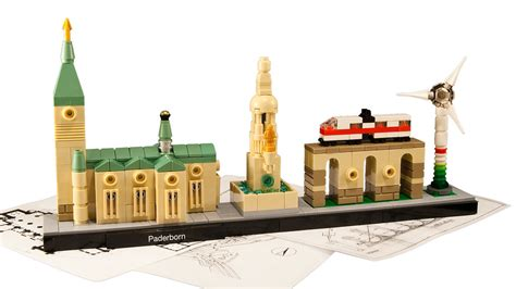 lego architecture skyline paderborn  ist  entry fo flickr