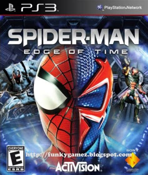 spider man edge  time eur cfw  ps iso