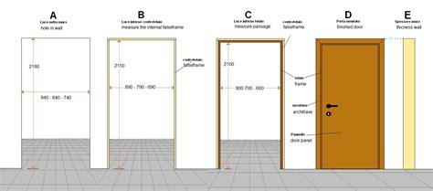 Idee Porte Interne by Misure Porte Interne Idea Immagine Home