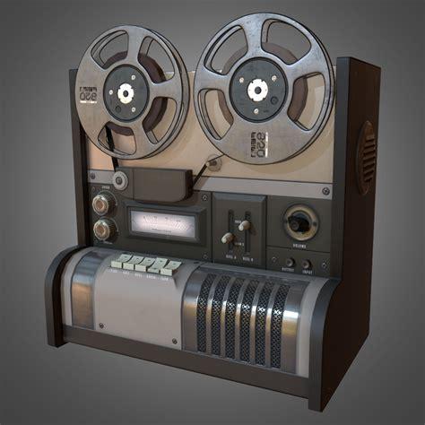 reel  reel recorder  model game ready obj fbx ma