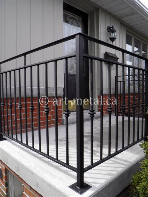 Outdoor Banisters And Railings by Exterior Railings Handrails For Stairs Porches Decks