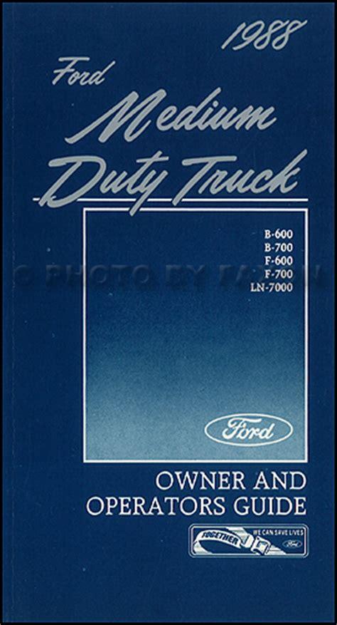 ford  series truck repair shop manual lnt ll ls lt