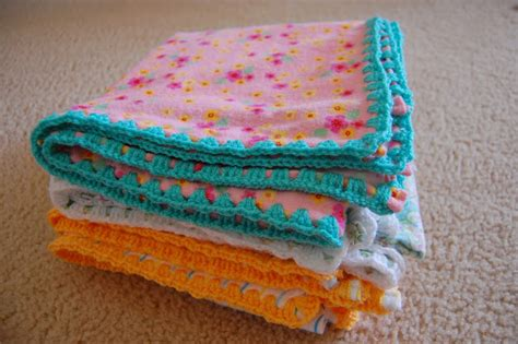 Crochet-edged Receiving Blankets Horse Blankets Schneiders Econo Heat Electric Blanket Review Make My Own Receiving Super Soft Fabric French Term For Pigs In A Best Cats 12 Volt Car Hooded Seat Tutorial