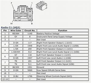 2008 Silverado Wiring Diagram For Chevy Radio