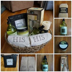 His his gay wedding house warming party gift basket for Gay wedding gift ideas
