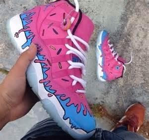 Donut Pink Jordans