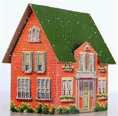 Cardboard Storey Story Houses Toy Paper Toys