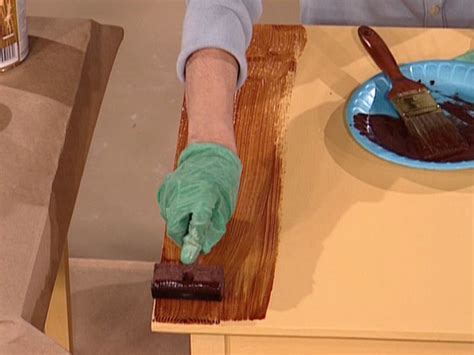 how to paint wood how to paint a faux wood grain