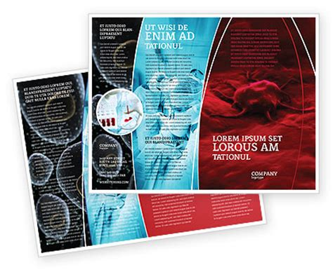 cancer cell cover template cancer cell brochure template design and layout download