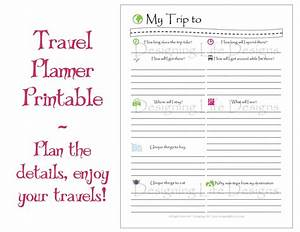 9 best images of travel planner template printable With trip planning itinerary template
