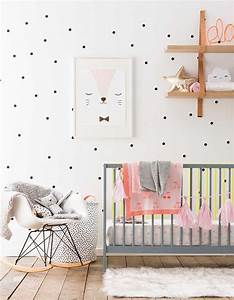 Deco Scandinave Chambre Bebe : chambre de b b 25 id es pour une fille elle d coration ~ Melissatoandfro.com Idées de Décoration