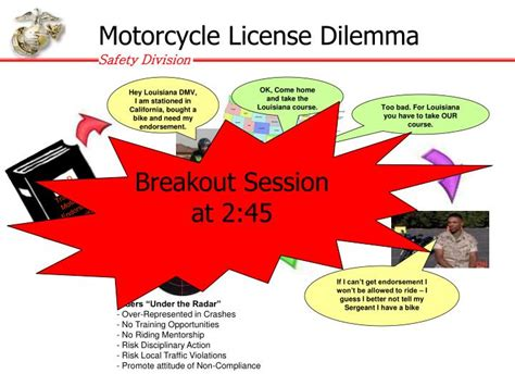 Military Update On Motorcycle Safety Powerpoint