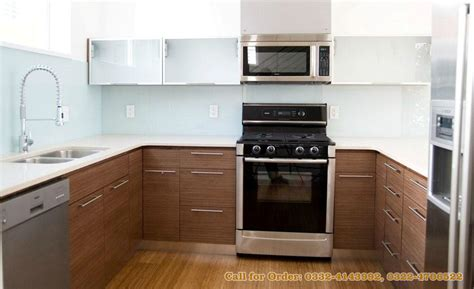 wood veneer kitchen cabinets modern kitchen cabinets for in lahore kitchen 1614