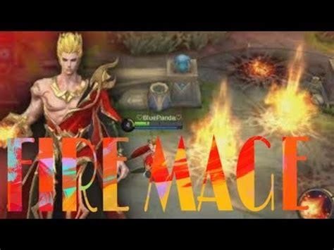 mobile legends  hero valir fire mage youtube