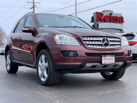 Tap the column header to sort. 2008 Mercedes-Benz ML 350 4MATIC Stock # 0902 for sale near Brookfield, WI   WI Mercedes-Benz Dealer