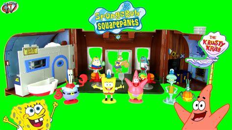 Spongebob Squarepants Krusty Krab Playset Fun Toy Review