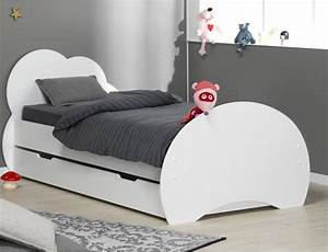 Chambre enfant complete lit tiroir altea blanc for Deco chambre enfant avec achat matelas latex 90x190