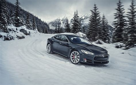 2015 Tesla Model S P85d Wallpaper Free Desktop Backgrounds