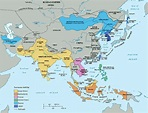 Map Of China In 1914 - 88 World Maps