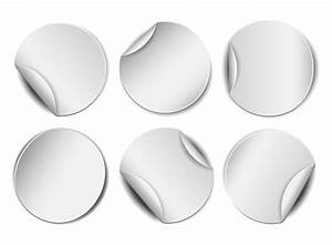 blank circle sticker vector 01 free download With blank circle stickers