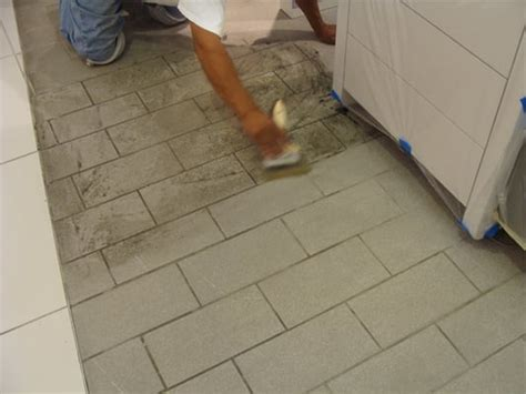 tile floor restoration refinishing grout cleaning