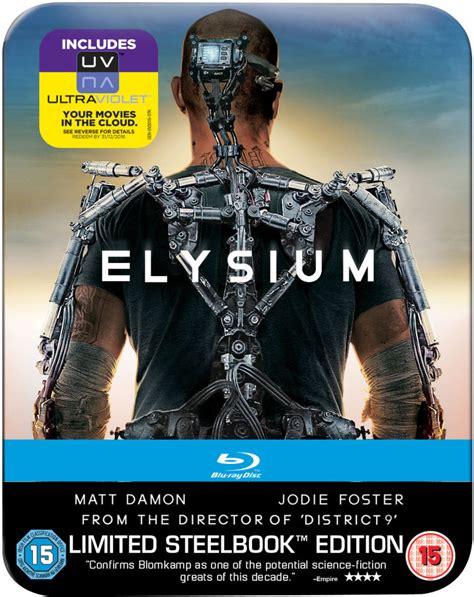 elysium limited edition steelbook mastered