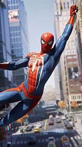 Wallpaper Spider-Man, PlayStation 4, 2018, 4K, Games, #13335