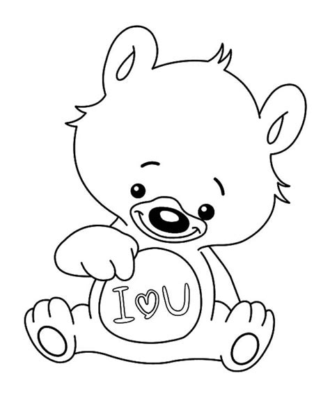 printable image   love  coloring pages tom