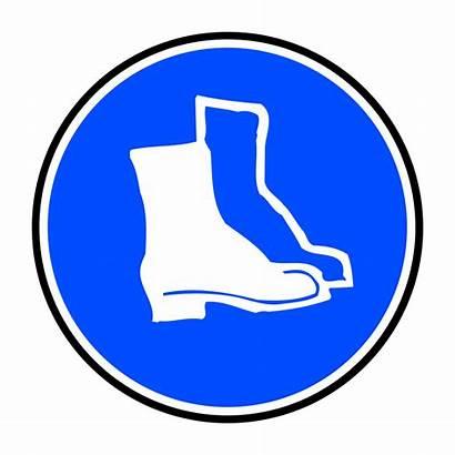 Hard Mandatory Boots Protection Feet Svg Clip
