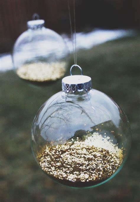 diy glitter ornaments jillianastasia