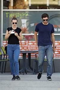 LEIGHTON MEESTER and Adam Brody Out and About in Los ...