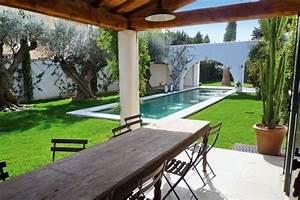 amenagement petit jardin avec terrasse et piscine maison With amenagement petit jardin avec terrasse et piscine