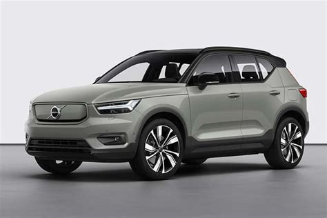 volvo introduces  electric xc recharge crossover
