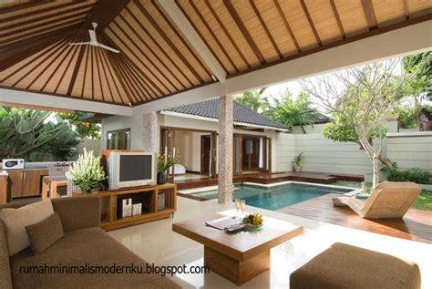 foto villa  bali desain rumah minimalis