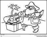 Coloring Pages Pirate Treasure Library Printable Chest Drawing Books Idaho Pdf Getdrawings Libraries Preschool Bird Boys Popular Coloringtop Luxury sketch template