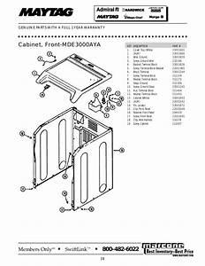 Wiring Diagram Frigidaire Fwt445ge Front Load Washer