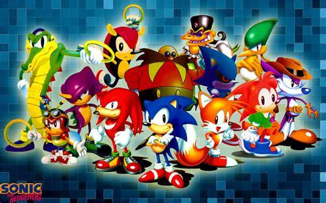 [49+] Sonic Characters Wallpaper on WallpaperSafari
