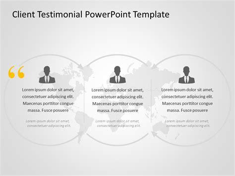 client testimonials powerpoint template  client